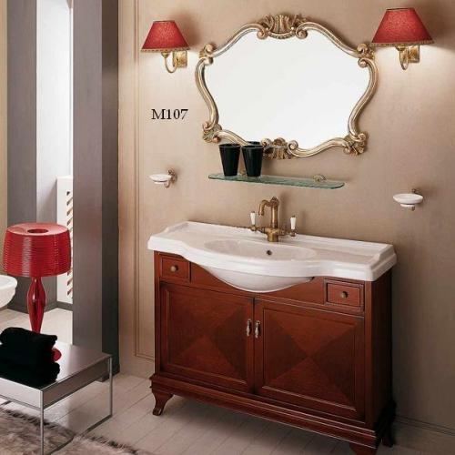Комплект мебели Labro Legno MARRIOT Composizione M107, вишня/бронза, 105 см