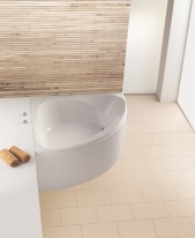 """Ванна угловая Hoesch SPECTRA """"С"""", арт. 3655.010, со съемной панелью, 141,6*141,6*64,5 см"""