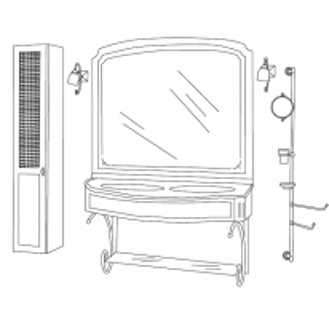 Комплект мебели Eurodesign IL Borgo Композиция № 25