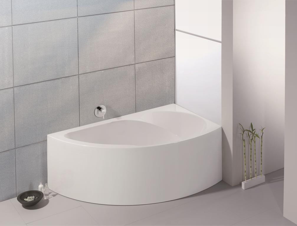 """Ванна угловая Hoesch SPECTRA """"В"""", арт. 3661.010, с несъемной панелью, правая, 171*101*67 см"""