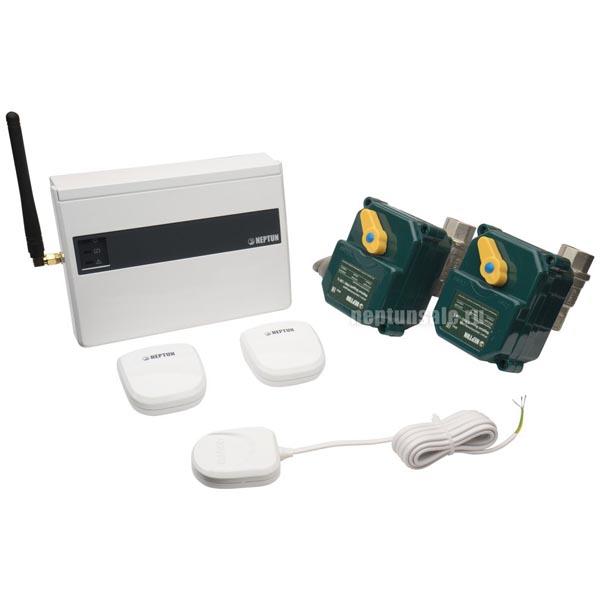 Система защиты от протечек Neptun ProW+ 1/2 43054104000007 с беспроводными датчиками