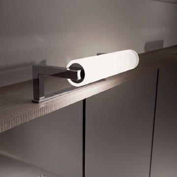 Светильник Berloni Bagno арт. XP14, 60 Вт 20 см алюминий