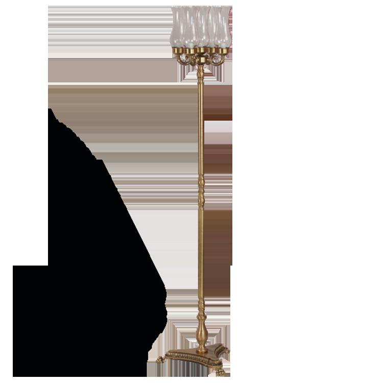 Торшер 5-ти ламповый Migliore Complementi ML.COM-50.150, цвет бронза
