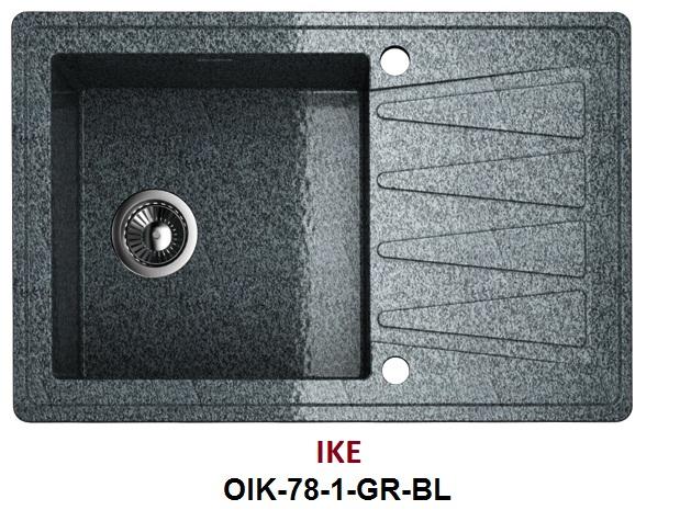 Мойка Omoikiri Ike OIK-78-1-GR