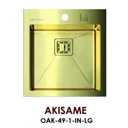 Мойка Omoikiri Akisame OAK-49-1-IN-LG