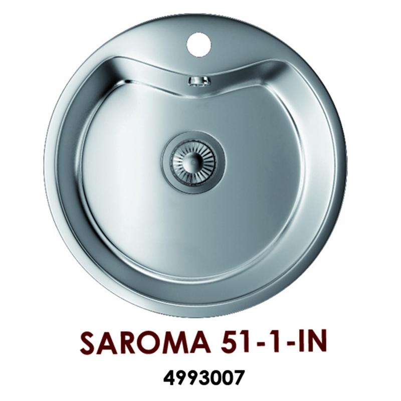 Мойка Omoikiri Saroma 51-1-IN, арт. 4993007