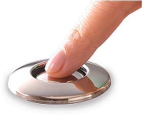 Кнопка и мембранная коробка воздушного пневмовыключателя InSinkErator (товар продается только в комплекте)