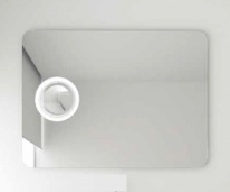Реверсивное зеркало с подсветкой и увеличительным зеркалом Berloni Bagno SIR0950 (950x650)