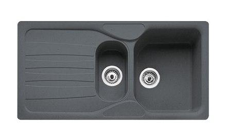 Мойка Franke CALYPSO COG 651, гранит, установка сверху, оборачиваемая, 97*50 см