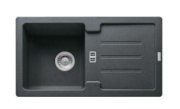 Мойка Franke STRATA STG 614, гранит, установка сверху, оборачиваемая, 78*43,5 см
