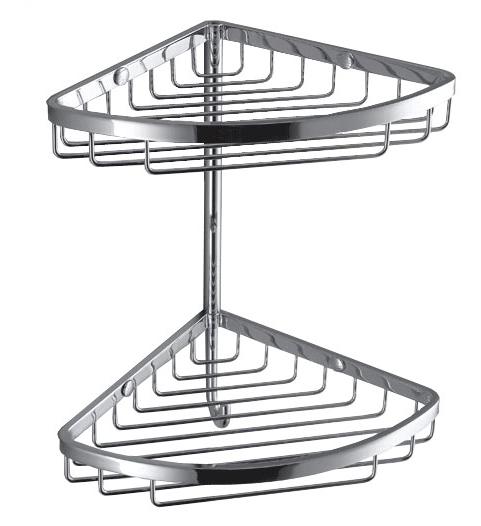 Двойная угловая полочка с крючком Colombo Complimenti B9617 VSTV