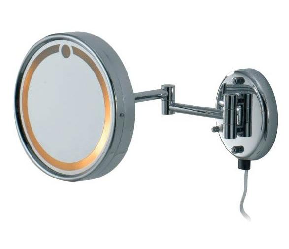 Косметическое зеркало с подсветкой Colombo HOTEL COLLECTION B9966, Ø210,