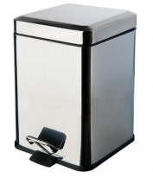 Ведро для мусора Colombo Black&White B9211.CR VSTV