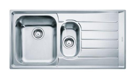 Мойка Franke NEPTUNE NEX 251, установка сверху, SlimTop, левая/правая, нержавеющая сталь, полированная, 100,4*51,4 см