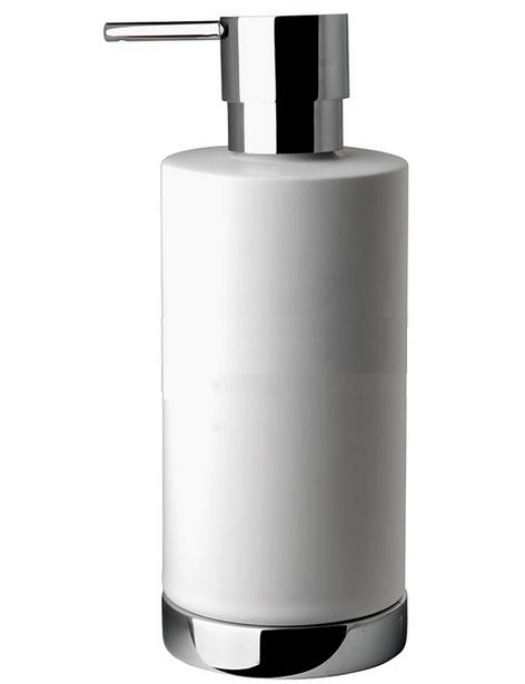 Дозатор для жидкого мыла Colombo Nordic, настольный B93240.CR-CBO, белый
