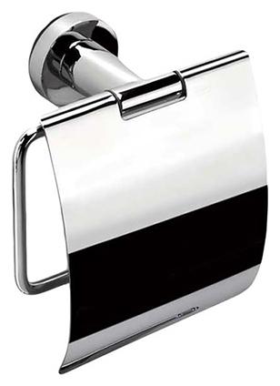 Держатель для туалетной бумаги Colombo Basic В2791, с крышкой 14 см, хром