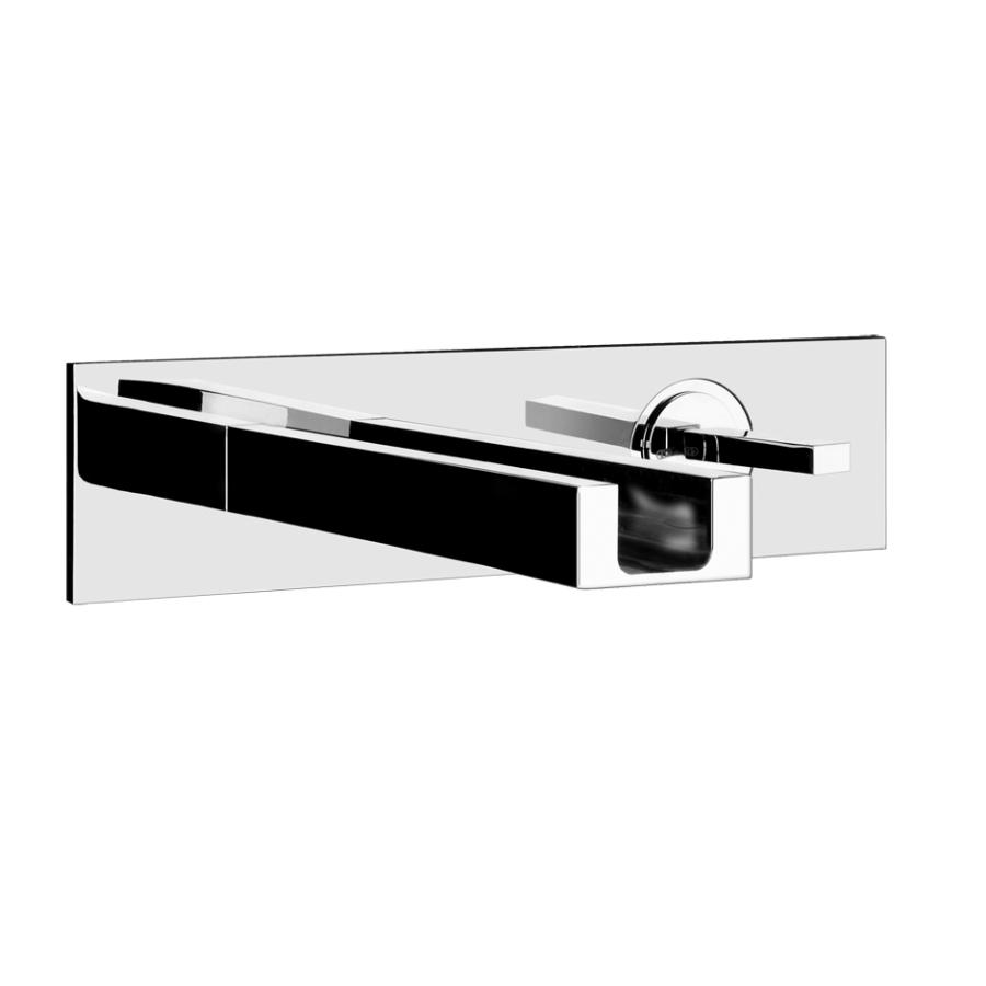 Смеситель Gessi RETTANGOLO CASCATA 30994/031 для раковины, внешняя часть, 185 мм