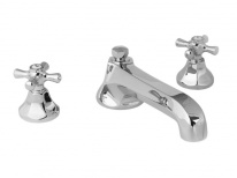 Смеситель для ванны Cristal-et-Bronze Charlety, арт. 25803-84, на 3 отверстия