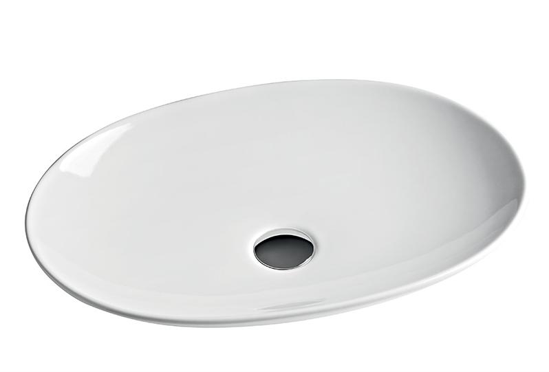 Раковина ArtCeram La Fontana LFL001 01;00, овальная белая