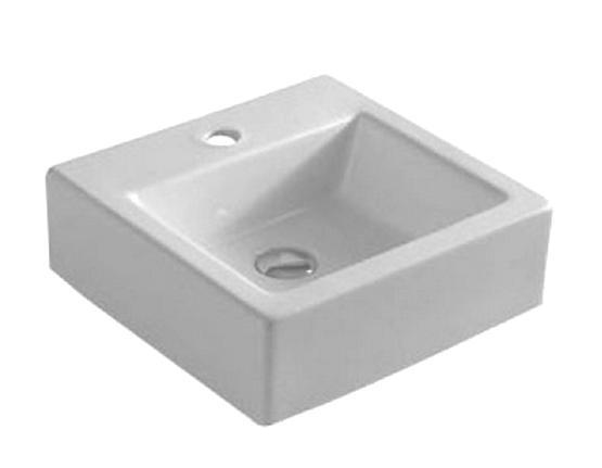 Раковина ArtCeram FUORI BOX MINI TFL019 01;00 подвесная/накладная