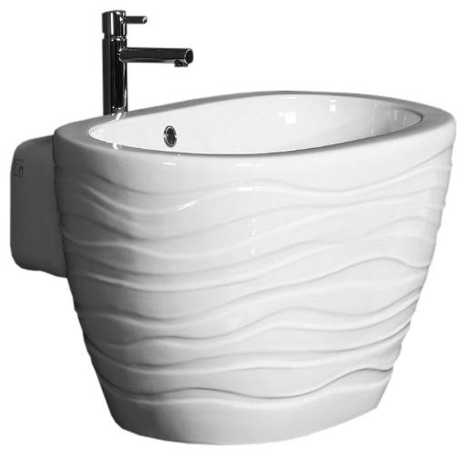 Раковина-чаша Ceramica Ala Wave 670*490 мм