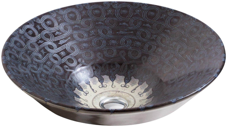 Раковина Kohler Serpentine Bronze K-14223-SP-G9