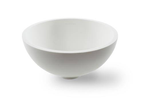 Раковина Montebianco Nemi Due 11103, накладная, белая матовая, 29,3*29,3*14,5 см