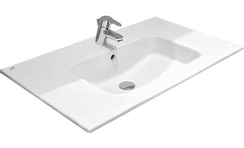 Раковина-столешница Roca Victoria-N 32799C000, 80,5*45 см, белая