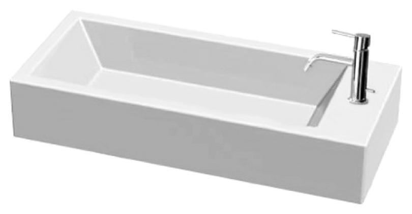 Раковина White Stone Hox large WS06101F, 70*30 см