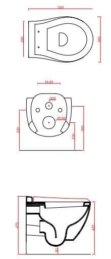 Унитаз ArtCeram Blend подвесной BLV001 01;00