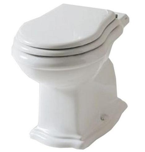 Унитаз Axa Contea 0601101, приставной с креплением для сиденья