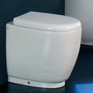 Унитаз Ceramica Ala Today 17VS/P приставной под скрытый бачок, цвет белый