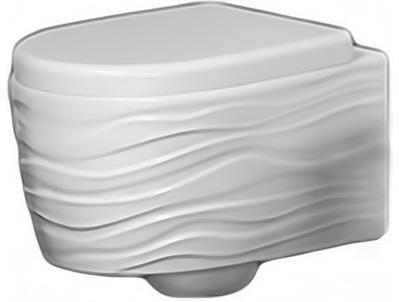 Унитаз Ceramica Ala Wave подвесной с сиденьем Soft Close