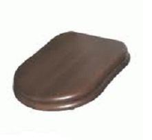Крышка-сиденье GSI Old Antea арт. MS56NC, орех/хром SoftClose