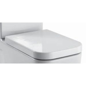 Крышка-сиденье GSI Traccia арт. MS6911, бел/хром
