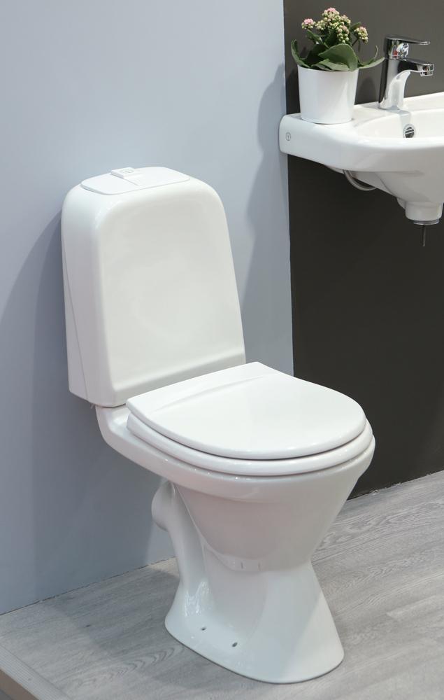 Унитаз Gustavsberg Basic 392 GB1039226105+1 однорежимный смыв, стандартное сиденье