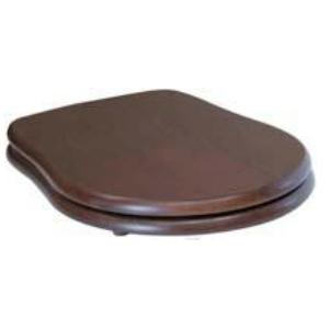 Крышка-сиденье Kerasan Retro 108840 Soft-Close, орех/хром