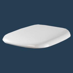 Сиденье с крышкой Twyford Moda для унитаза c микролифтом MD7851WH