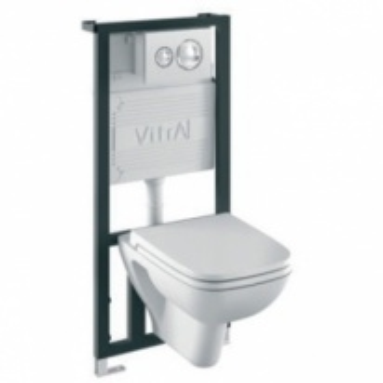 Комплект 4 в 1: Унитаз+система смыва Vitra S20 9004B003-7200