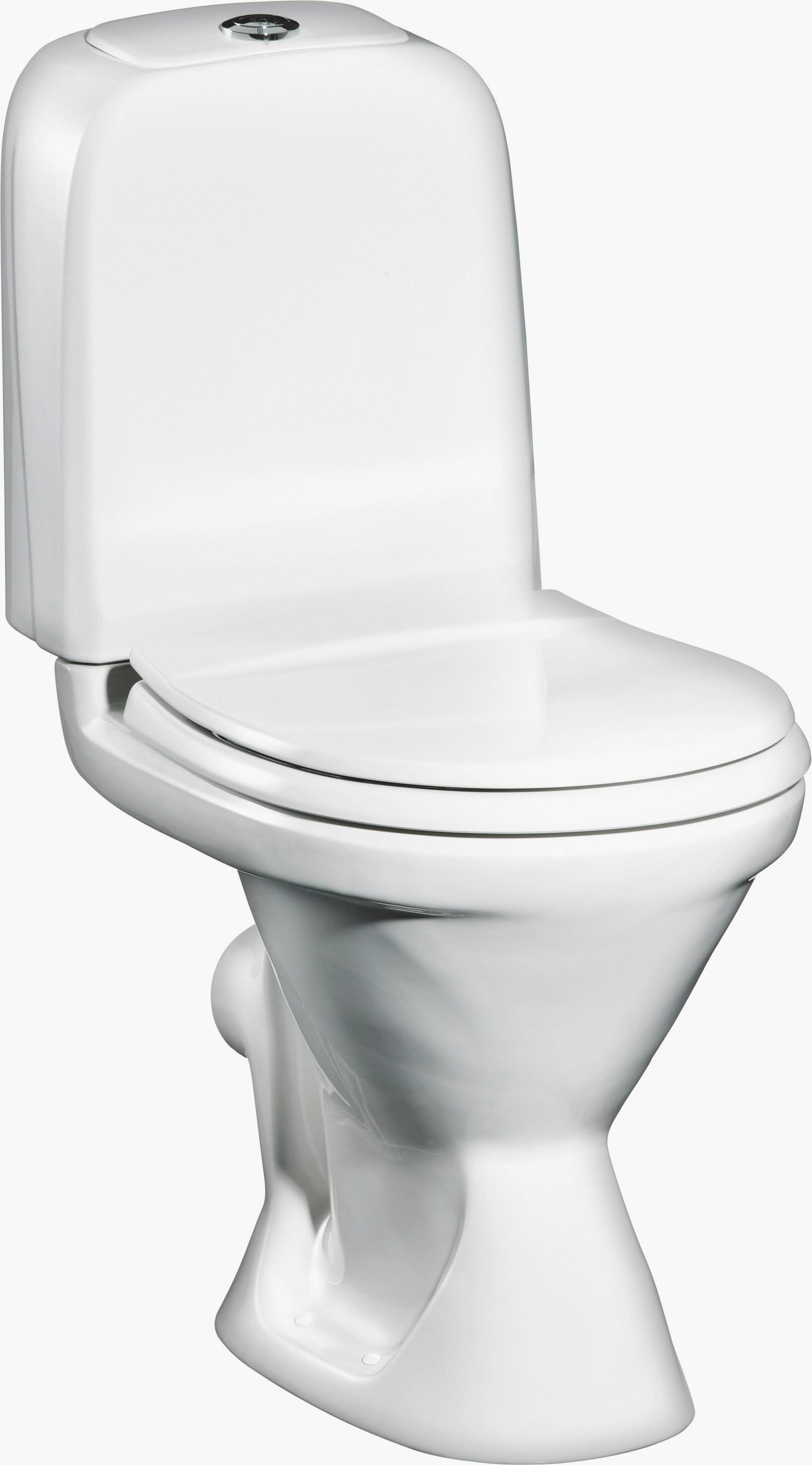 Унитаз Gustavsberg Basic 398 GB1039830105 укороченный со стандартной крышкой-сиденьем