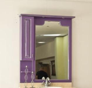 Зеркало с подсветкой Аллигатор CAPAN 120M(D), с двумя шкафчиками, 120*17*115 см