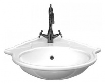 Раковина Ceramica Althea Royal 30353bi*1 угловая