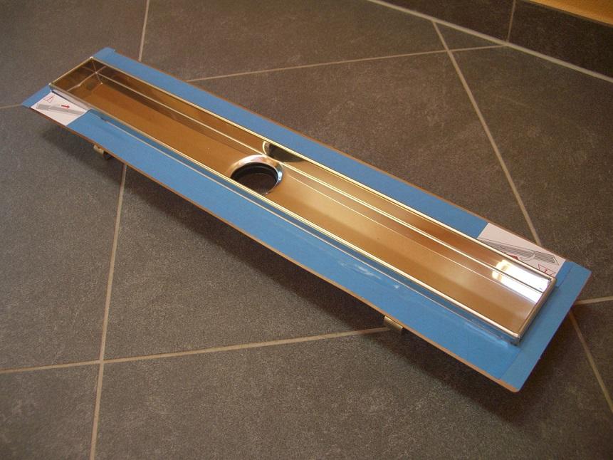 Дренажный канал прямой Tece арт. 600800 с гидроизоляцией Seal System, 800 мм