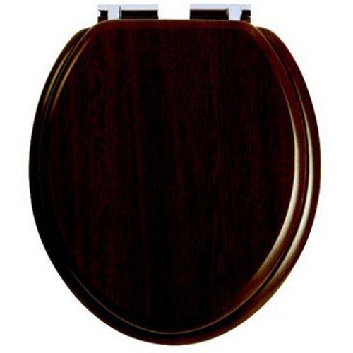 Крышка-сиденье Heritage Dorchester GW101S SoftClose, орех/хром
