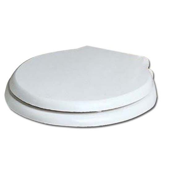 Крышка-сиденье Heritage Dorchester HWG101S SoftClose, белое, крепления хром