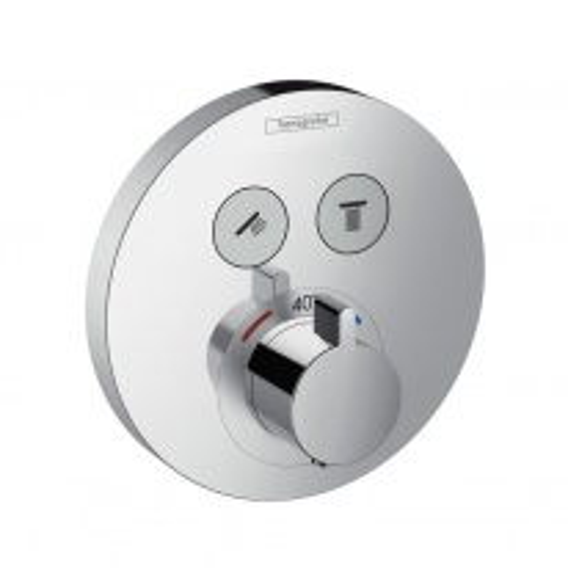 Термостат Hansgrohe ShowerSelect S, для 2 потребителей 15743000