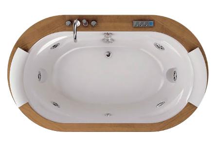 Ванна гидромассажная Jacuzzi OPALIA WOOD, 190*110*h63 см