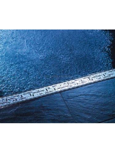 Решетка TECE «LINES» из нержавеющей стали, прямая, длина 800 мм