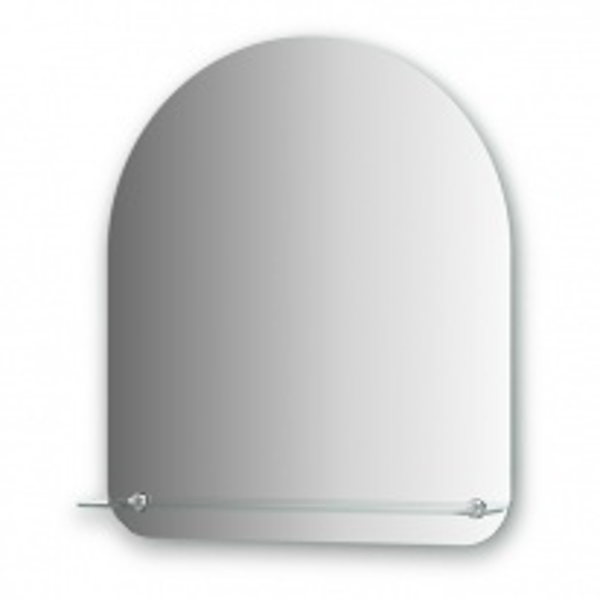 Зеркало с полочкой Evoform OPTIMA, арт. BY 0512, 60*70 см