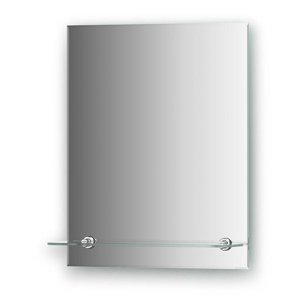 Зеркало с полочкой Evoform ATTRACTIVE, арт. BY 0501, с фацетом 5 мм, 40*50 см